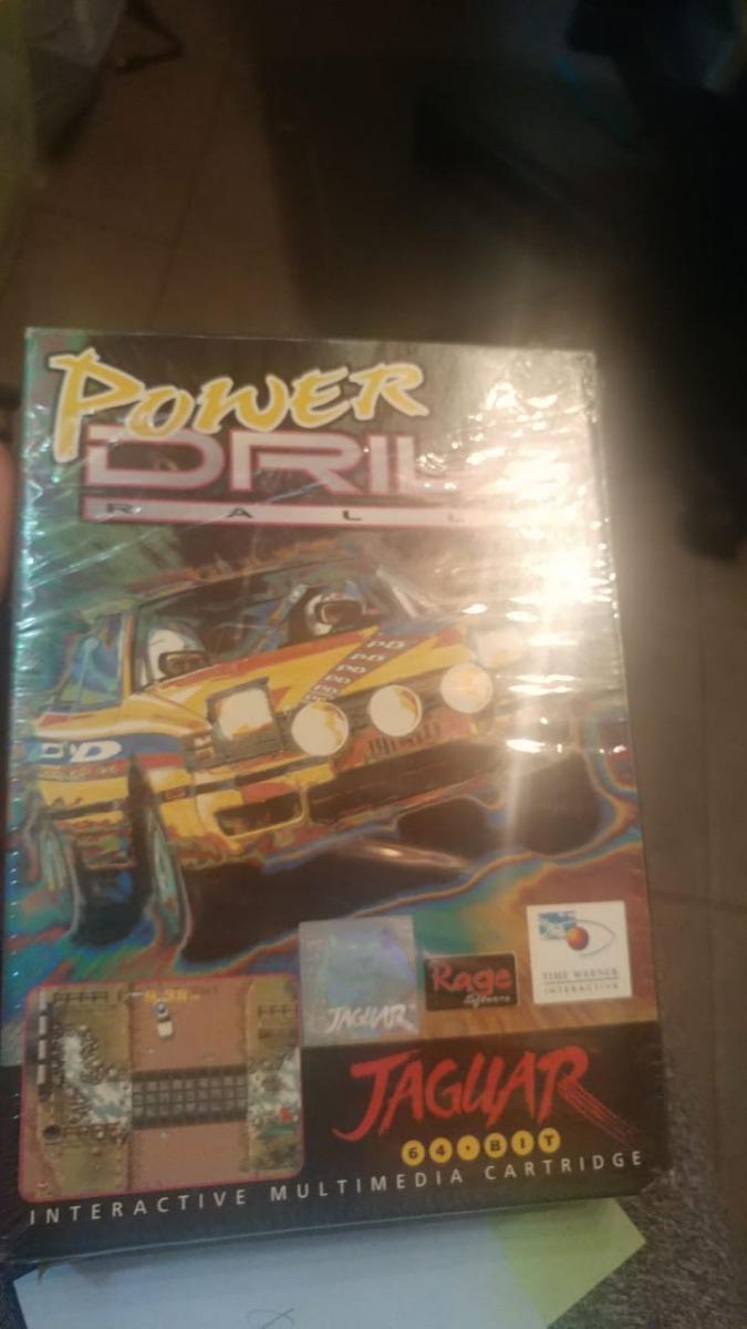 Juego Atari Jaguar Power Drive Rally Consolasdejuegos 8 899 00
