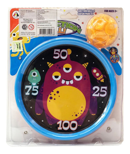 juego atrapar lanzar pelota c sopapa catch ball 0478 bigshop
