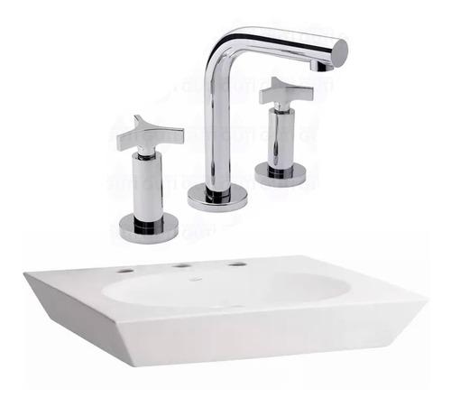 juego bacha baño apoyo ferrum trapecio grifería fv triades