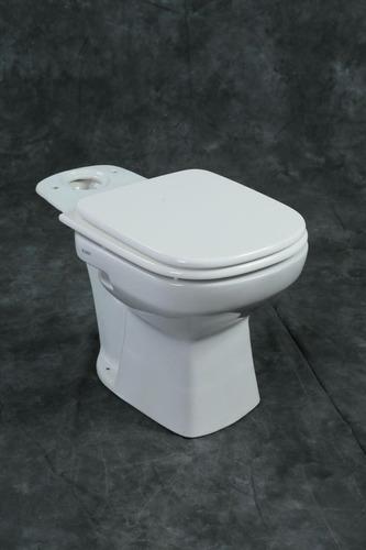 juego baño 2 p loza inodoro cuadrado+mochila apoyo 1ra calid