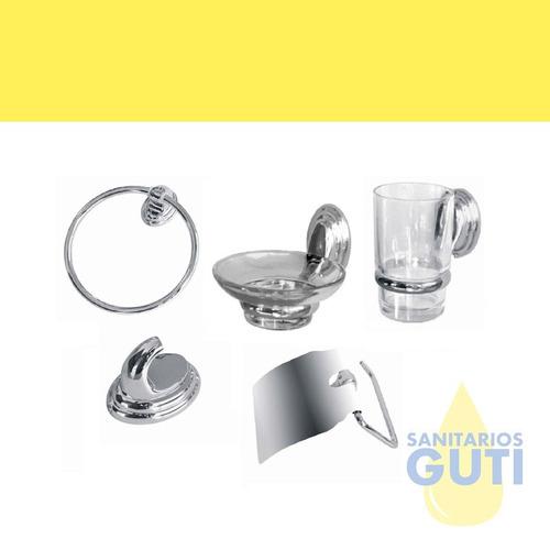 juego baño completo muebles griferías sanitarios accesorios
