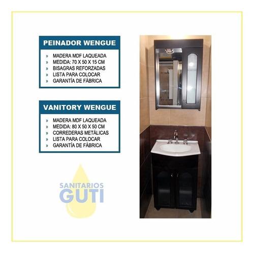juego baño completo vidrio griferías monocomando sanitarios