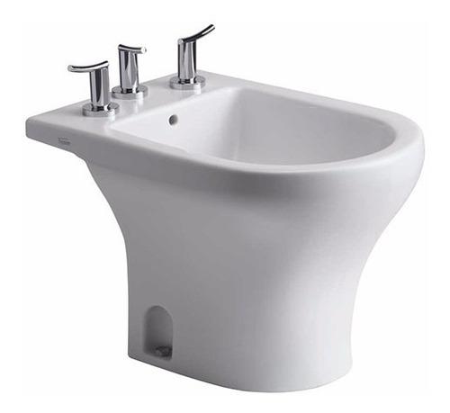 juego baño ferrum veneto inodoro largo deposito y bidet