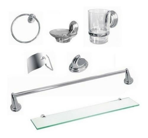 juego baño inodoro  set 7 pz vanitory 60cm griferia espejo