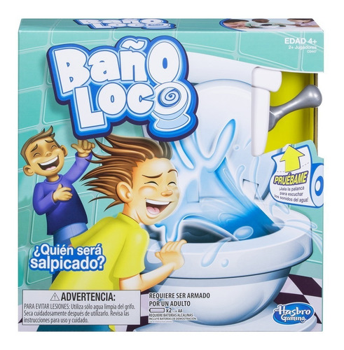 juego baño loco - hasbro