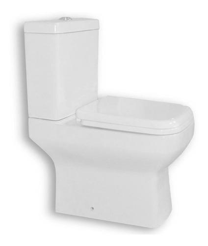 juego baño set 7 piezas inodoro vanitory 40cm griferia bidet