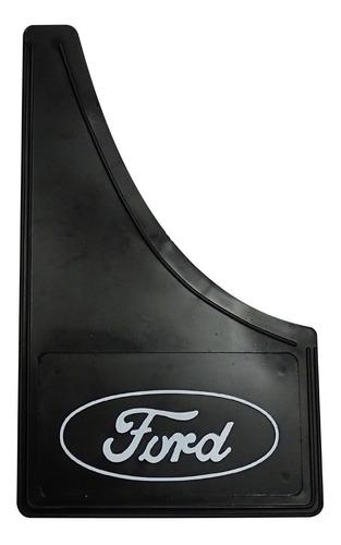 juego barreros baberos universales ford con logo x 2 goma