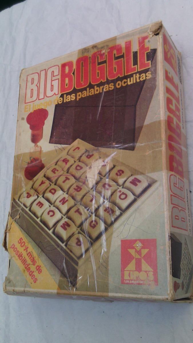 Juego Big Boggle Kipos El Juego De Las Palabras Ocultas 2 500 00