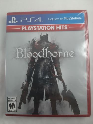 juego bloodborne ps4 nuevo sellado