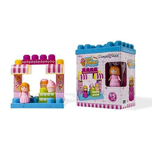 juego bloques dimple el ice crema tienda variedad 15 bloques