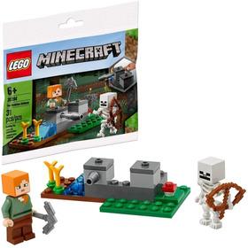 Juego Bloques Lego Minecraft Skeleton Defense 31 Piezas Ek