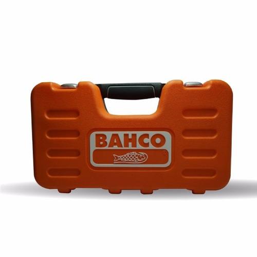 juego bocallave tubo encastre 1/2 24 pzas s240 bahco maletin