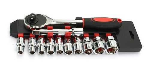 juego bocallaves crique 1/2 12 piezas 10 a 24mm pesado tubos