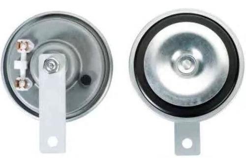 juego bocina tipo galleta 90mm diametro 12v blindadas oferta