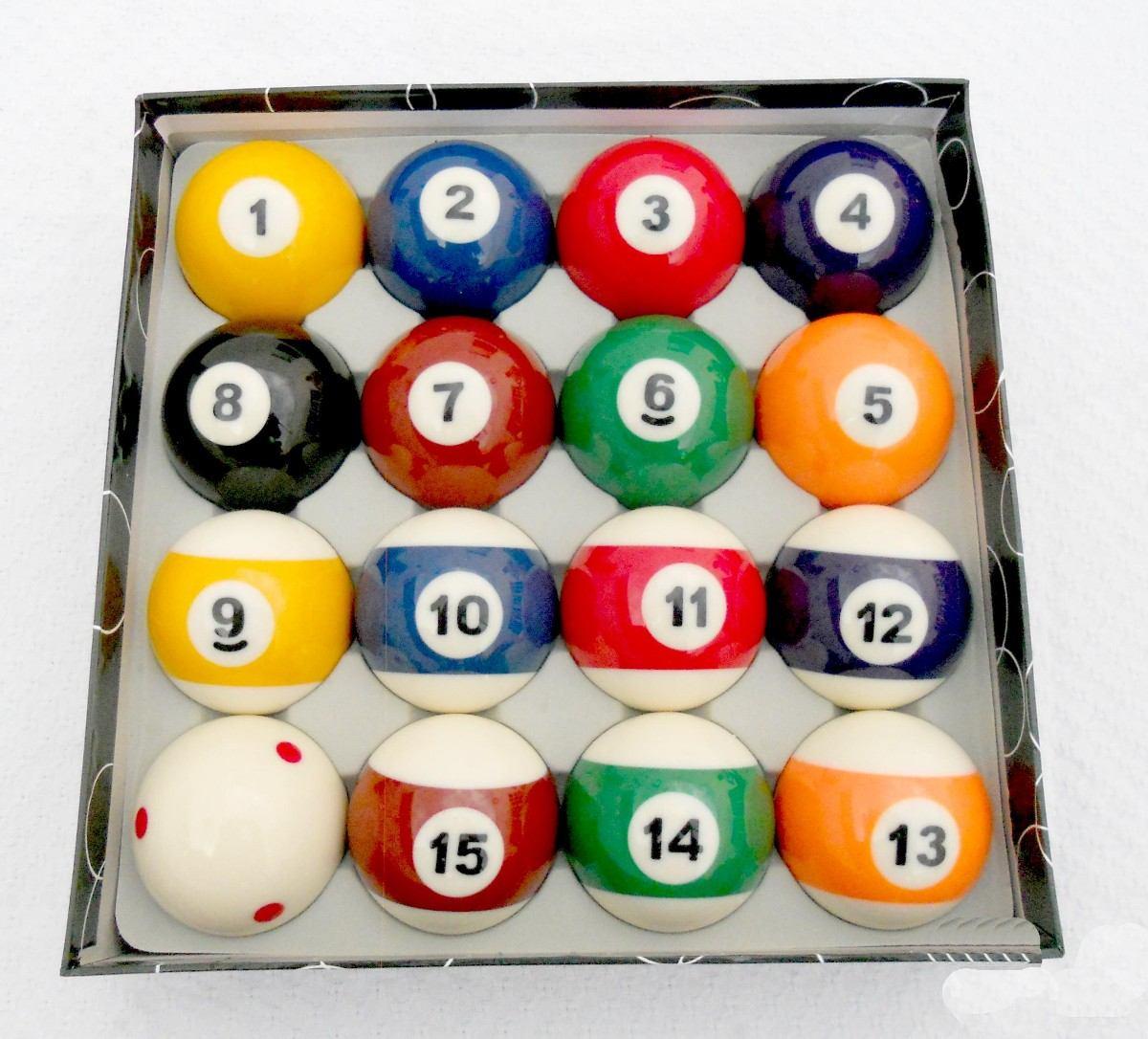 Juego bolas de billar pool grado a calidad comercial uso for Bolas para piscina de bolas