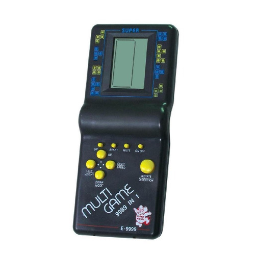 juego brick game 9999 in 1 atari + reloj + calculadora