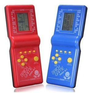 juego brick game 9999 in 1 atari + reloj + calculadora