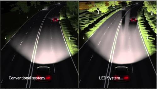 juego bulbos leds 9006 para varios modelos de autos mbc