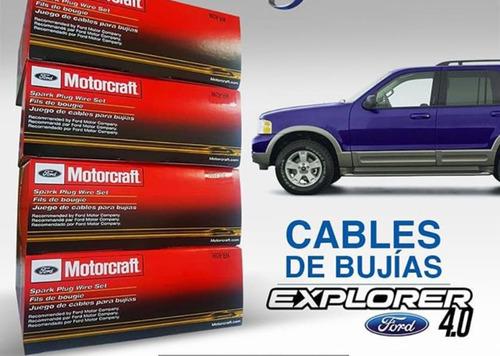 juego cable bujias ford explorer 4.0 6 cil motorcraft