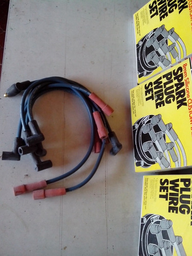 juego cable de bujias ford f150 made in usa 4.9