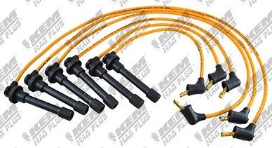 juego cables bujia honda accord v6 3.0l 1998-1999 silicon