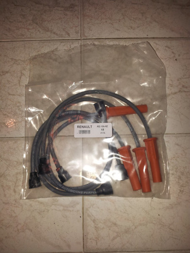 juego cables bujias renault 18 1.6 carb. anos 81-85