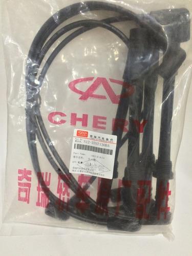 juego cables de bujía chery arauca x1 qq6 originales/tienda