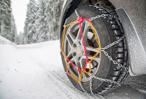 juego cadenas nieve barro rueda camioneta toyota hilux 16mm