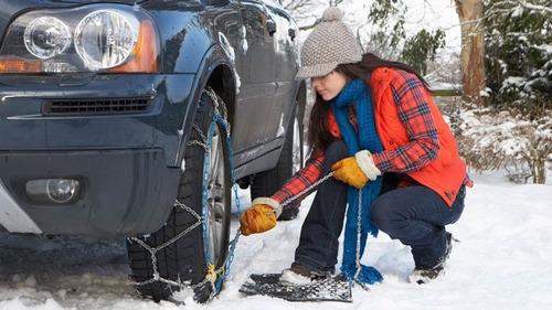 juego cadenas nieve barro rueda ford ecosport 12mm