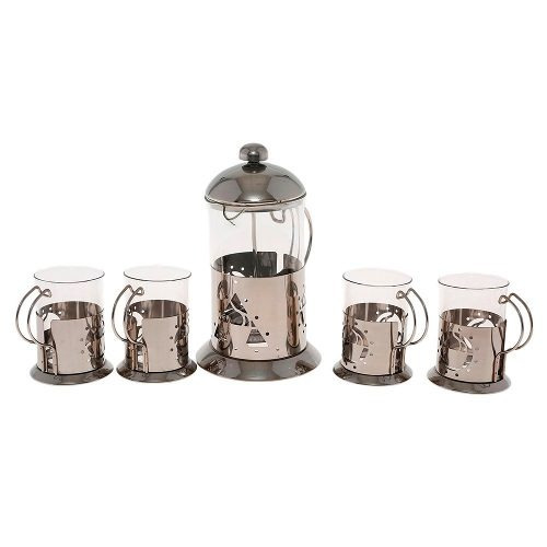 juego cafetera prensa francesa 800 ml 4 tazas namaro envio