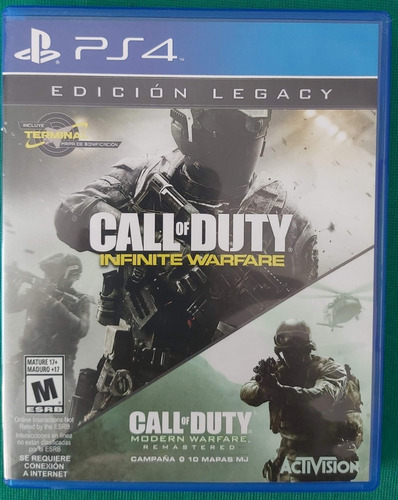 juego call of duty infinite ware ps 4