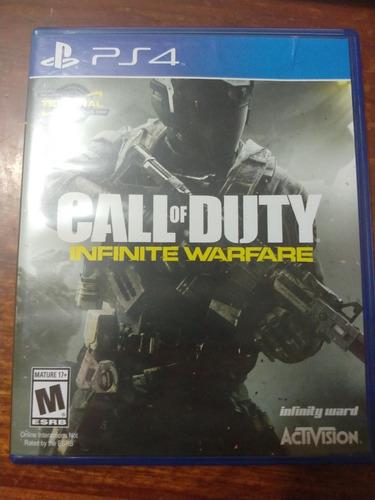 juego call of duty infinite warfare ps4