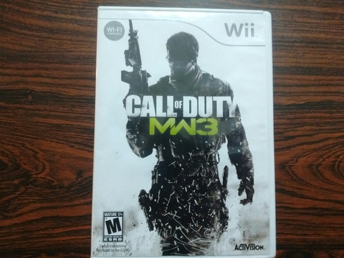 juego call of duty modern warefare 3 wii!