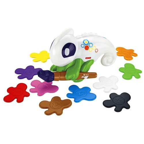 juego camaleon fisher-price mixer cuenta y enseña colores