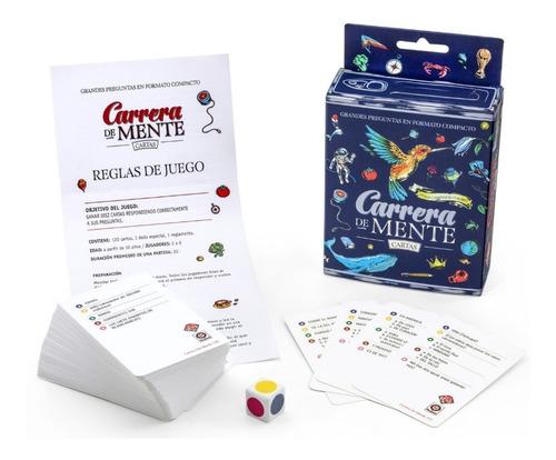 juego cartas carrera de mente original ruibal mundo manias