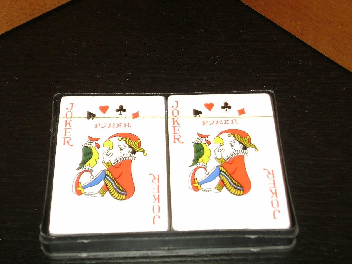 Juego Cartas De Poker 540 00 En Mercado Libre
