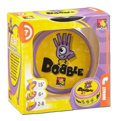 juego cartas dobble español memoria interactivo m9094 morado