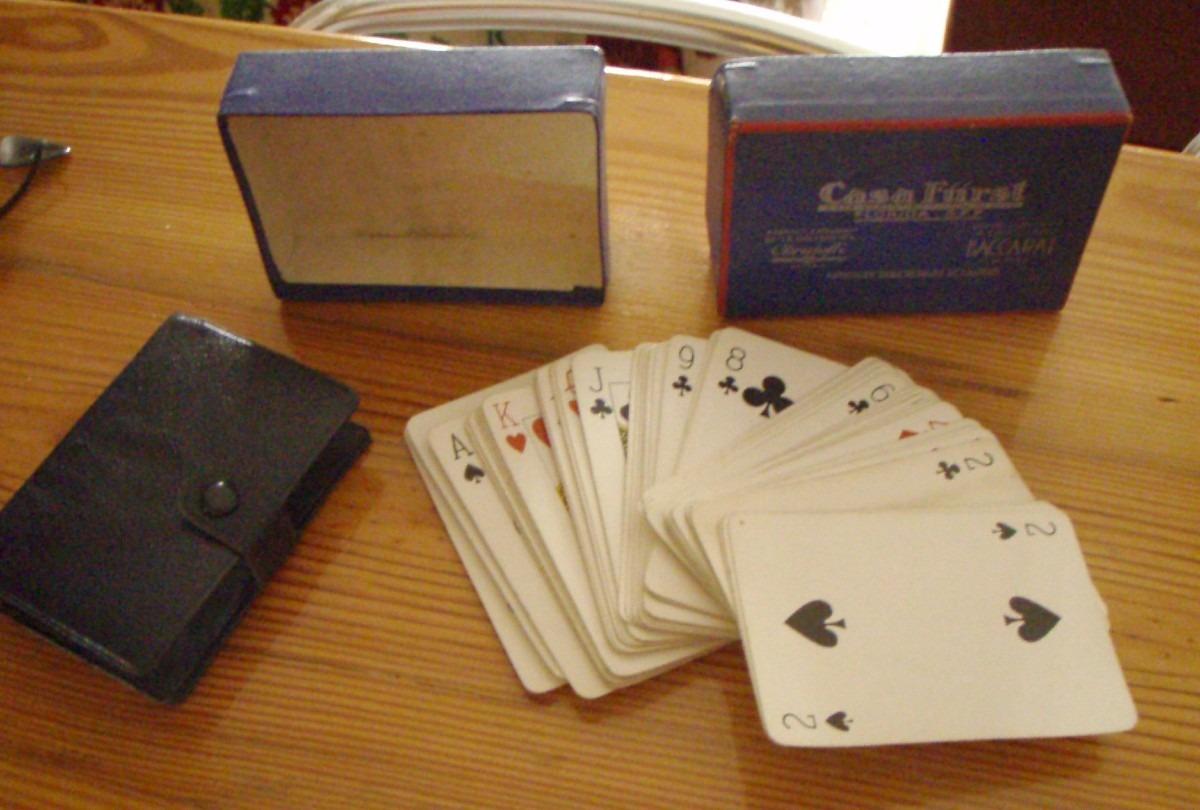 Juego Cartas Naipes Poker Casa Furst C Portamazo Y Caja Orig 450