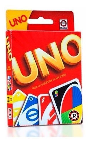 juego cartas uno mattel licencia original ruibal mundomanias