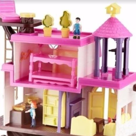 juego casa del árbol home play original - ideal 3 años o mas