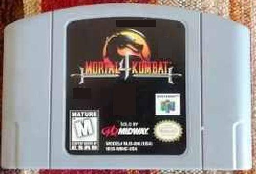 juego casset nintendo n64 mk4 kombat 4 leer descripcion 10v