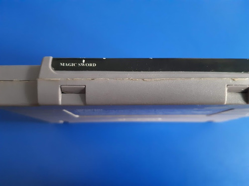 juego cassette magic sword  super nintendo snes