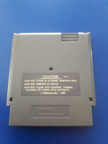 juego cassette original nintendo nes bad dudes
