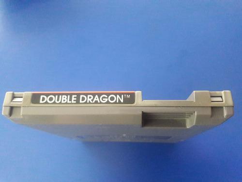 juego cassette original nintendo nes double dragon