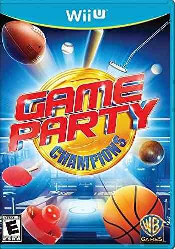 juego champions party - nintendo wii u