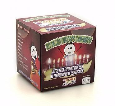 juego ciencia curiosos kits iluminados crea tu propia vela
