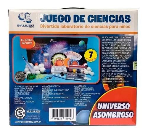 juego ciencia universo asombroso galileo planetas educando