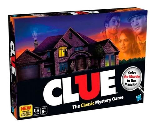 juego clue clasico el clasico juego de misterio de hasbro