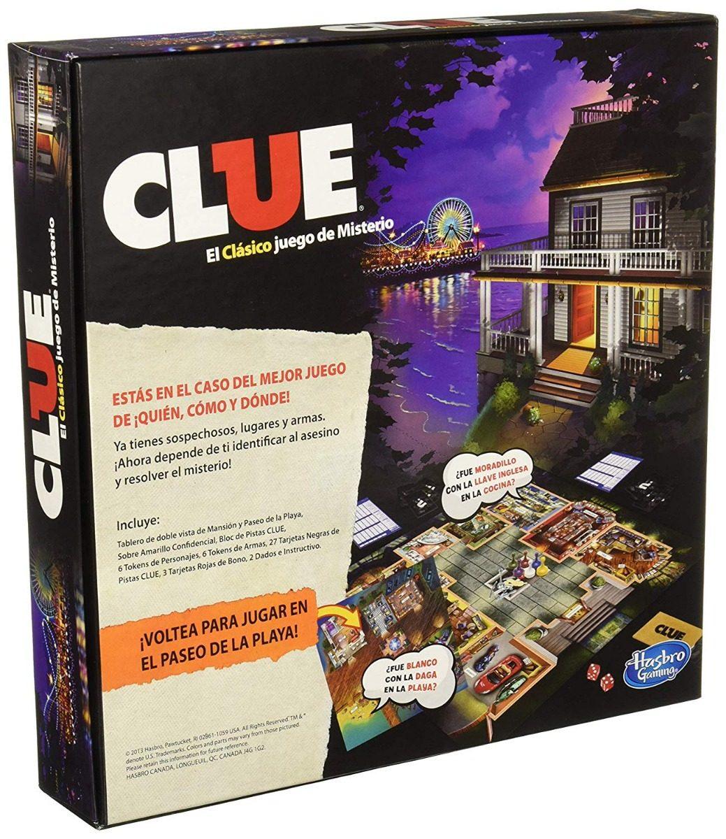 Clue Hasbro A5826 Xmas