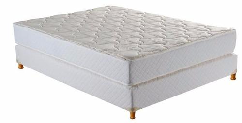 juego colchon espuma alta densidad 140 x 190 pillow